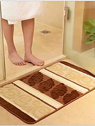 baratos -Tapetes de banho moderno poliéster / viscose retângulo padrão