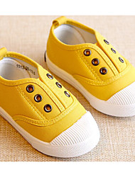 cheap -Girls' Shoes Canvas Spring Fall First Walkers Comfort Sneakers for Casual Dark Blue Gray Yellow Red Light Green