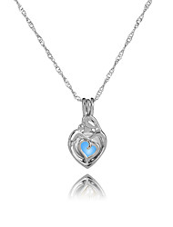 cheap -Women's All Shape Illuminated Gift Pendant Necklace , Luminous Stone Alloy Pendant Necklace Gift Evening Party
