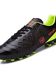 Недорогие -Муж. обувь Кожа Весна / Осень Удобная обувь Спортивная обувь Voetbal Черный / Оранжевый / Желтый