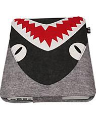 """preiswerte -Ärmel für Einfarbig Cartoon Design Polyester Stoff Das neue MacBook Pro 15"""" Das neue MacBook Pro 13"""" MacBook Pro 15 Zoll MacBook Air 13"""