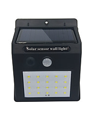 cheap -BRELONG 20LED Solar Body Sensor Wall Lamp Garden lights