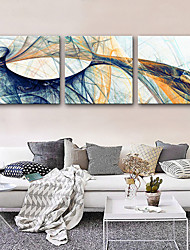 cheap -Canvas Print Rustic Modern, Three Panels Canvas Square Print Wall Decor Home Decoration