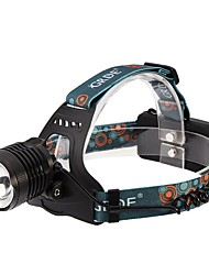 cheap -ANOWL LS294 Headlamps LED 700lm 3 Mode Portable / Professional Camping / Hiking / Caving / Everyday Use / Diving / Boating Black