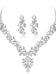 cheap -Women's Jewelry Set - Leaf Sweet, Fashion Include Bridal Jewelry Sets Silver For Wedding / Party