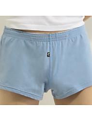 cheap -Men's Micro-elastic Briefs Underwear Medium,Cotton One-piece Suit Blue Red Light Green Light Blue