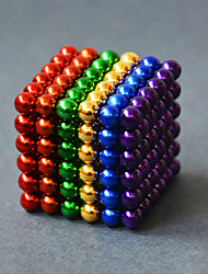 cheap -Magnet Toy Building Blocks Neodymium Magnet Magnetic Balls 216pcs 5mm Magnet Sphere Toy Adults' Gift