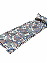 cheap -Inflated Mat Self-Inflating Camping Pad Heat Insulation Moistureproof/Moisture Permeability Waterproof Quick Dry Rectangular Breathability