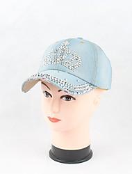 abordables -Femme Toile de jean Travail Décontracté Chapeau de soleil Casquette de Baseball - Stylé, Couleur Pleine Floral/Botanique