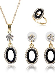 cheap -Women's Jewelry Set - Fashion Include Pendant Necklace Gold For Gift / Daily