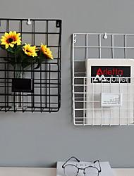 Недорогие -Декор стены Металл Пастораль Предметы искусства, Металлические украшения на стену из 1