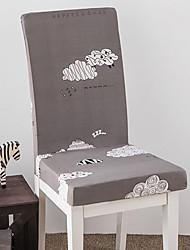 abordables -Moderne 100% Polyester Jacquard Housse de chaise, Confortable Moderne Imprimé Literie