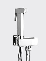 cheap -Sprinkle®Bidet Faucets - Modern Chrome Wall Mount Pull out One Hole