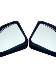 baratos -2pcs / lot acessórios de carro pequeno espelho redondo espelho retrovisor espelho retrovisor óptico lente de grande angular 360 graus de