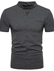 cheap -Men's Street chic Polo Stand