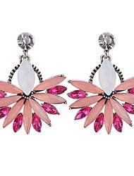abordables -Femme Opale Boucles d'oreille goutte - Opale, Imitation Diamant Mode Blanc / Bleu / Rose Pour Soirée / Sortie