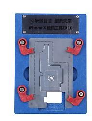 cheap -logic board bga repair tools for iphone x planting tin fixture motherboard ic chip ball soldering net