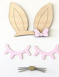 cheap -Decorative Wall Stickers - 3D Wall Stickers Shapes Bedroom / Kids Room