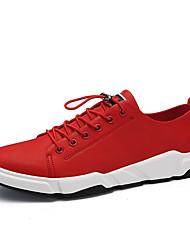 Homens sapatos Micofibra Sintética PU Couro Ecológico Primavera Conforto Solados com Luzes Tênis Caminhada Corrida Aventura Ciclismo para