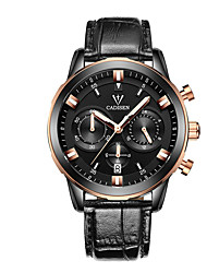 cheap -CADISEN Men's Fashion Watch Sport Watch Casual Watch Chinese Quartz Calendar / date / day Chronograph Water Resistant / Water Proof