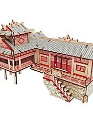 Недорогие -Деревянные пазлы Пазлы и логические игры Необычные профессиональный уровень Фокусная игрушка Стресс и тревога помощи деревянный Маскарад