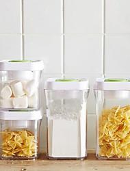 Недорогие -Смешанные материалы Аксессуар для хранения Коробки для хранения 4шт Кухонная организация