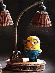 baratos -Não-Personalizado Resina Lâmpadas de Mesa LED Figuras e Estátuas Colegas de Trabalho Amigos Bebés e Crianças Aniversário Roupa Diária