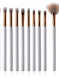 cheap -10-Pack Professional Makeup Brushes Makeup Brush Set Natural Fiber / Synthetic Hair Soft Beech Wood Eye Portable