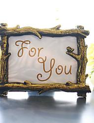 Недорогие -смола фоторамка место держатель карты beter gifts® свадебные декоры