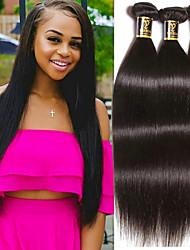 Недорогие -Бразильские волосы Прямой Ткет человеческих волос Человека ткет Волосы Жен. Повседневные