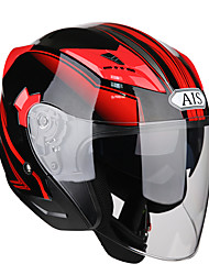 cheap -R1-708 Half Helmet Adults Unisex Motorcycle Helmet  Wind Proof Shockproof Anti-UV