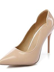 abordables -Femme Chaussures Cuir Verni Similicuir Printemps Eté Confort Nouveauté Chaussures à Talons Talon Aiguille Bout pointu Strass Points Polka