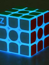 baratos -Rubik's Cube Luminoso Glow Cube 3*3*3 Cubo Macio de Velocidade Cubos mágicos Cubo Mágico Brinquedos de escritório O stress e ansiedade