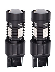 cheap -2pcs Light Bulbs 21W SMD LED 21 Tail Light For universal All Models All years
