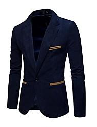 abordables -Blazer Grandes Tailles Homme - Couleur Pleine