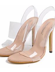 Mujer Zapatos Tafetán Primavera / Otoño Confort / Tira en el Tobillo Tacones Tacón Stiletto Dedo Puntiagudo Pajarita Negro / Rojo Prix Pas Cher Sortie 54YIE