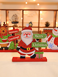 cheap -Christmas Gifts / Christmas Wooden Wedding Decorations Holiday Autumn/Fall Winter