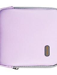 Torbica za pohranu za Jedna barva PU koža Napajanje Flash Drive Power bank Tvrdi disk Slušalice