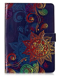 cheap -Case For Samsung Galaxy Card Holder Wallet with Stand Pattern Auto Sleep/Wake Up Full Body Cases Mandala Hard PU Leather for Tab S3 9.7