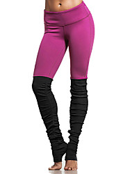 Yoga hlače Hlače Donji Prozračnost Rugalmas Prirodno Rastezljivo Sportska odjeća Uniseks Yoga