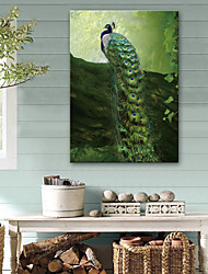abordables -Impression sur Toile Rétro Moderne, Un Panneau Toile Format Horizontal Imprimé Décoration murale Décoration d'intérieur