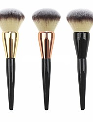 cheap Powder Brushes-1pc Powder Brush Blush Brush Concealer Brush Nylon Professional Hypoallergenic Sexy Lady Limits Bacteria Wooden Wood Face