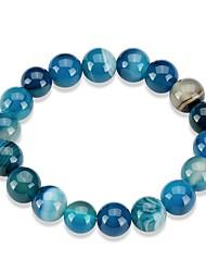 abordables -Femme Cristal Chaînes & Bracelets - Cristal Mode Bracelet Rouge / Bleu / Rouge foncé Pour Cadeau / Quotidien