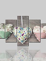 Недорогие -Холст для печати Классика Modern, 5 панелей холст Горизонтальная С картинкой Декор стены Украшение дома