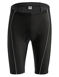 baratos -Jaggad Homens Mulheres Bermudas Acolchoadas Para Ciclismo - Preto Moto Shorts Shorts Acolchoados, Secagem Rápida, Respirável, Tapete 3D