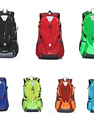 cheap -40 L Rucksack Sports & Leisure Bag Hiking & Backpacking Pack Hiking Outdoor Exercise Waterproof Zipper Travel Mountaineering Nylon