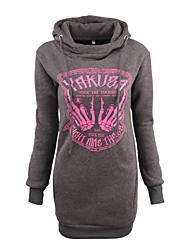 cheap -Women's Active Hoodie - Letter, Print