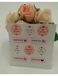 baratos -Romance Etiquetas, Etiquetas e tags - 10 Irregular Autocolantes Todas as Estações