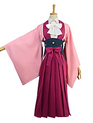 cheap -Inspired by Kabaneri Of The Iron Fortress Cosplay Anime Cosplay Costumes Cosplay Suits Other Long Sleeves Cravat Blouse Skirt Bow More