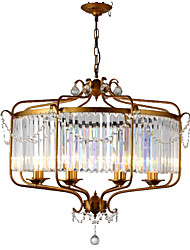 cheap -LightMyself™ Retro / Vintage Country Chandelier Pendant Light Ambient Light - Crystal, 110-120V 220-240V Bulb Not Included
